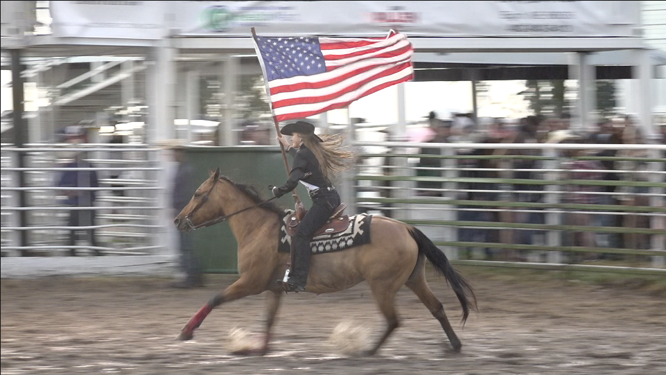 Rain and mud doesn't stop the Clearwater Rodeo