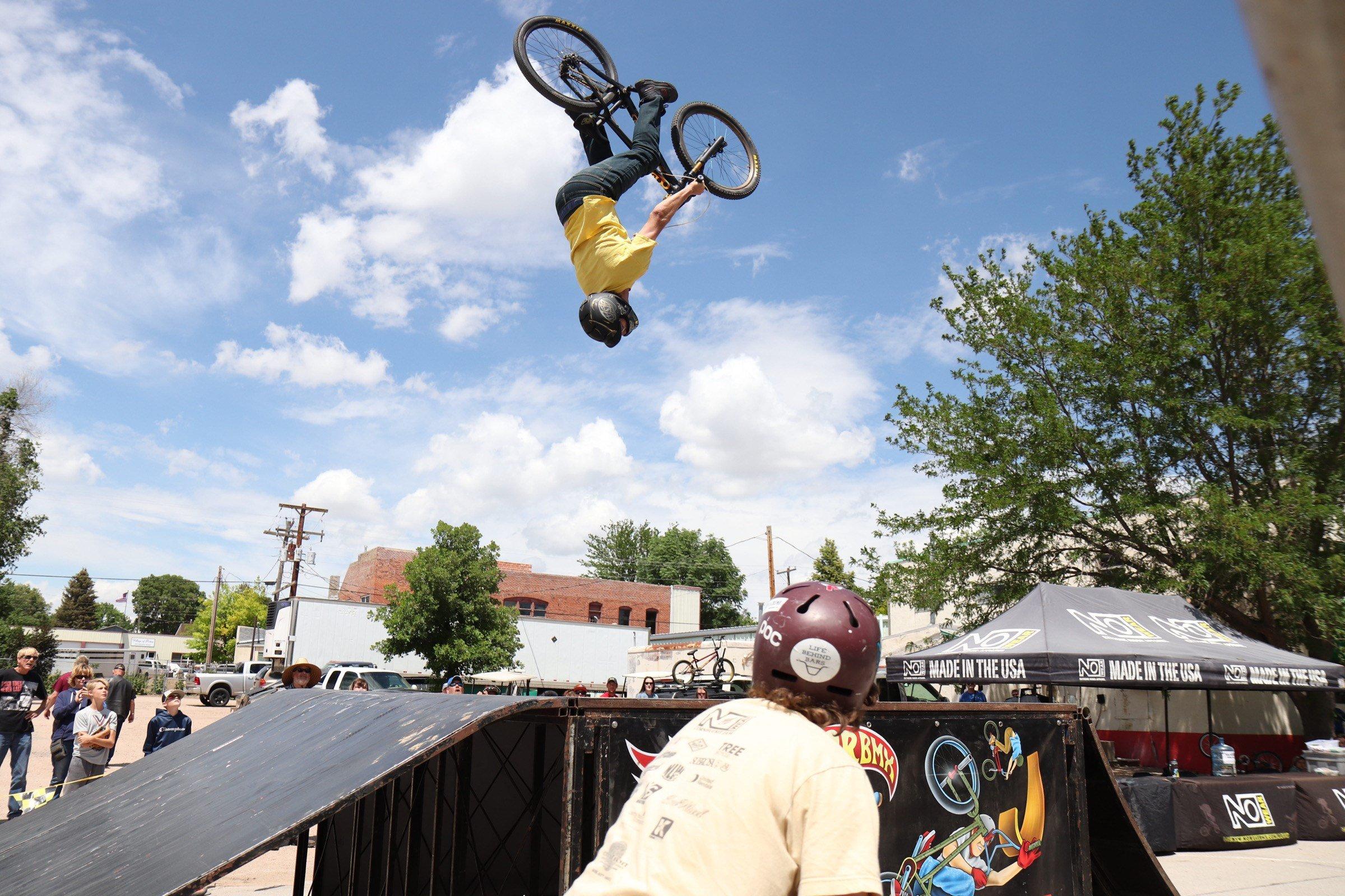 PHOTOS: Nowear BMX Stunt Show at the 2021 Potter Carbowl
