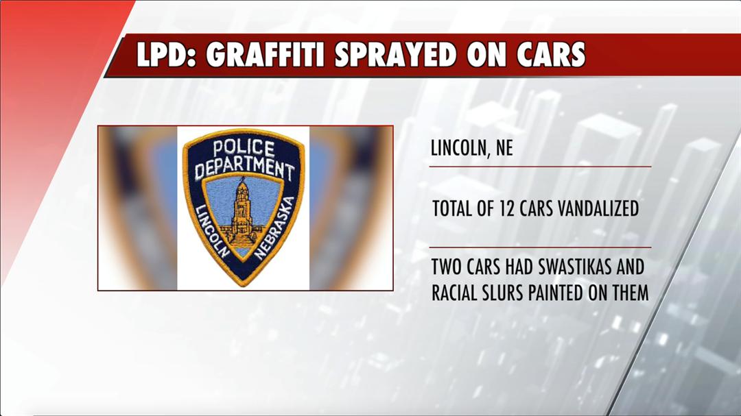 LPD reports graffiti of swastikas, derogatory and racial slurs