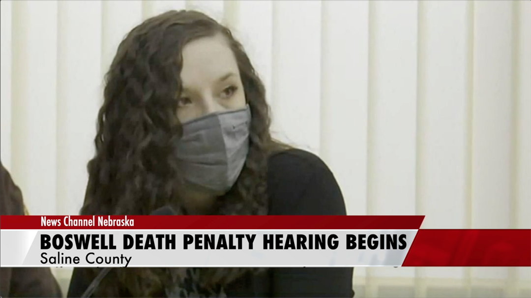 Death penalty hearing for Boswell underway