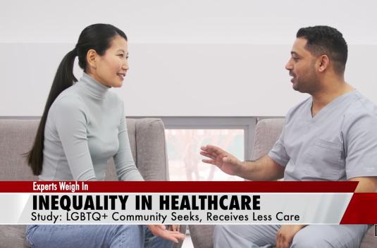 Health discrepancies in LGBTQ+ community