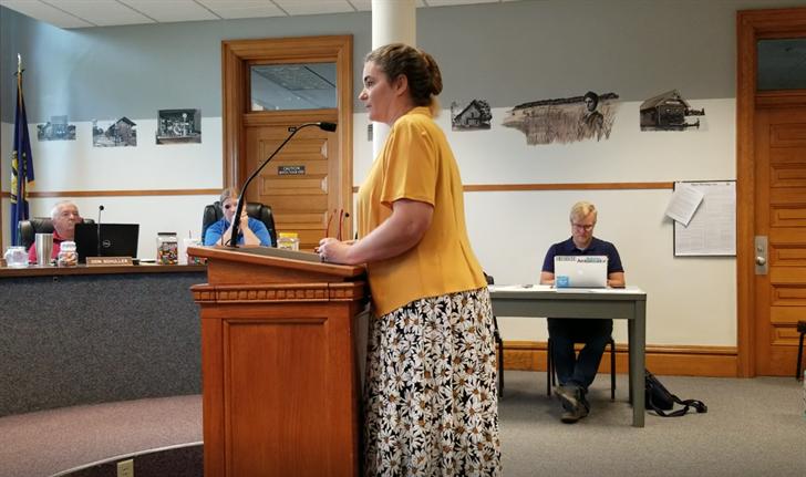 Gage County on record, opposing Kansas-Nebraska Heritage Area