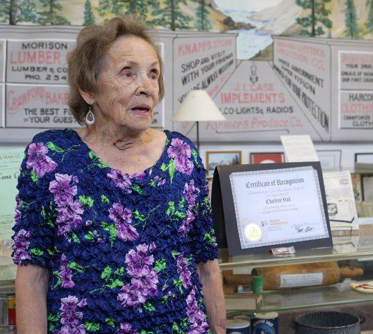 History Nebraska names Crawford's Charlene Vail a Heritage Hero