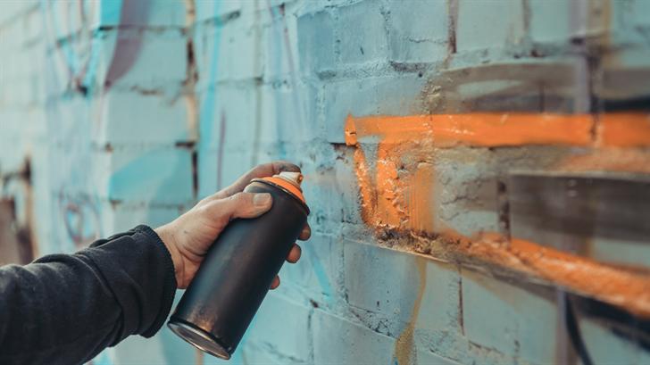 Graffiti vandals target D.A.R.E. Program & Epstein in central Nebraska