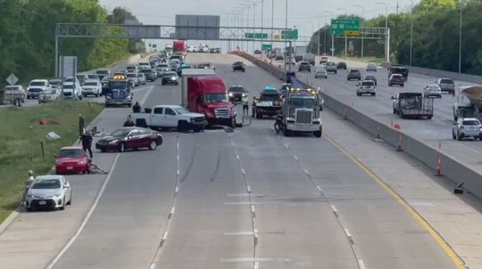 Three injured in I-680 accident