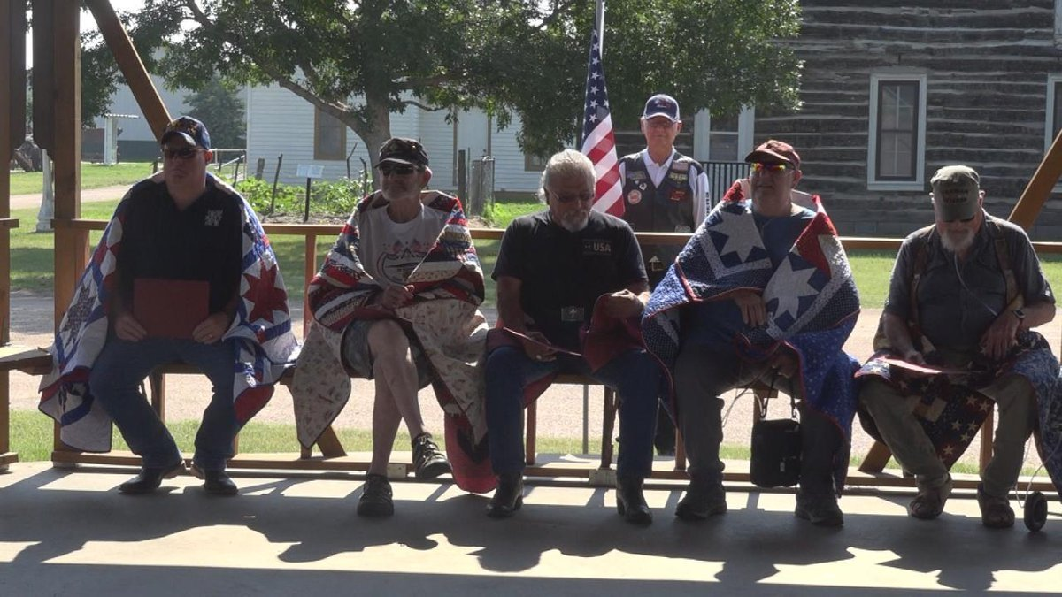 Five North Platte veterans awarded Quilts of Valor