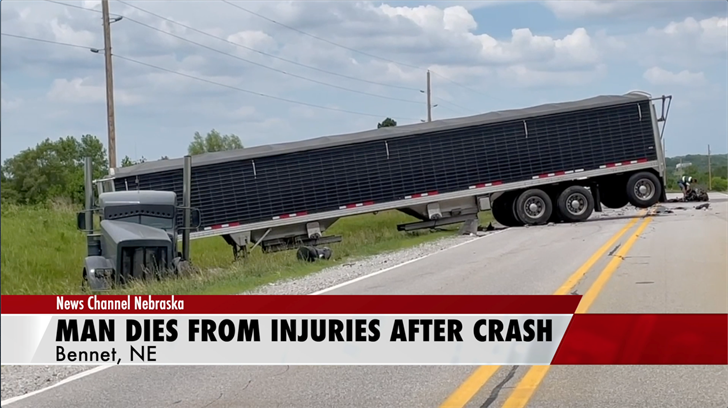 Man dies from injuries after head-on crash