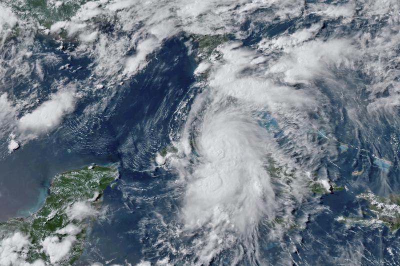 Tropical Storm Elsa moving across west Cuba, then to Florida