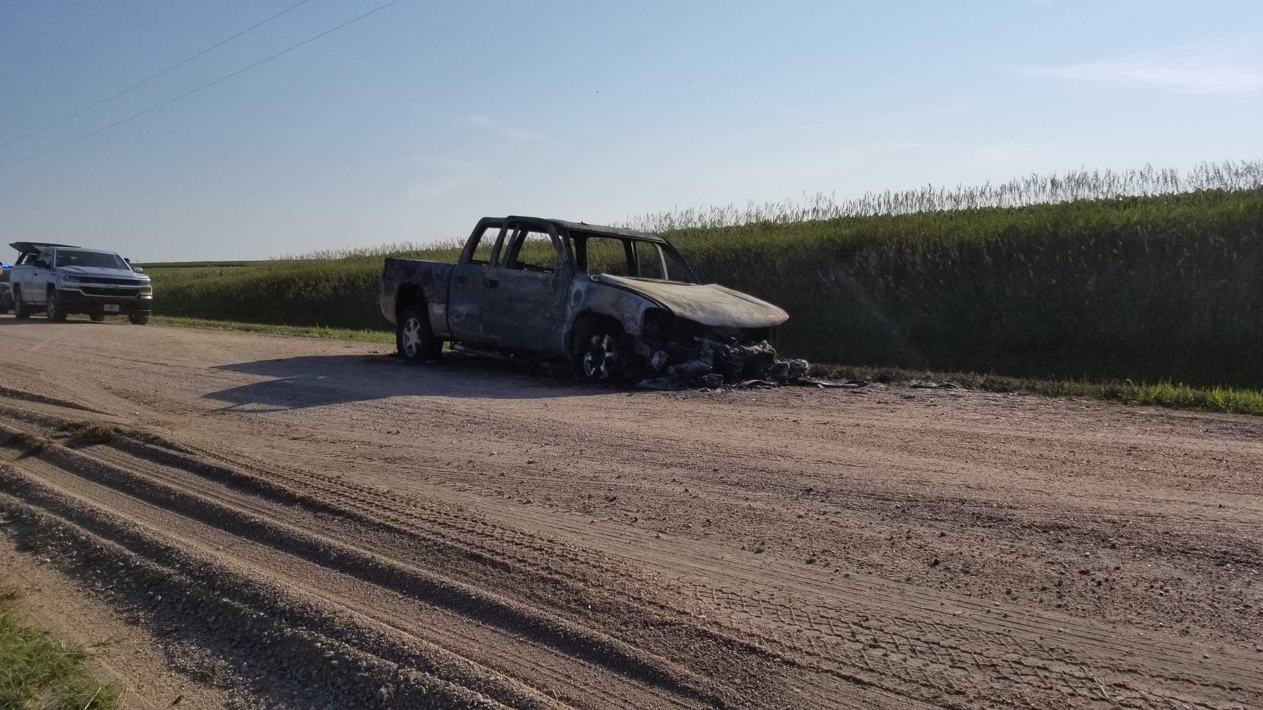 Pickup, trailer fires at separate locations under investigation