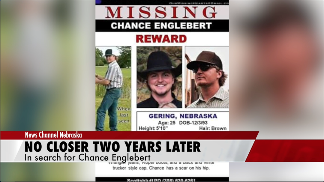 Two years later, still no sign of Chance Englebert