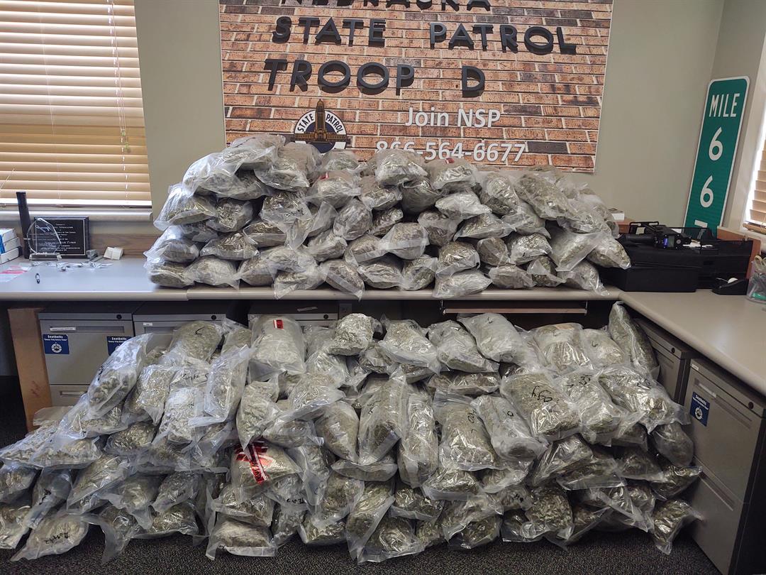 Troopers locate 262 lbs. of marijuana in Dawson County