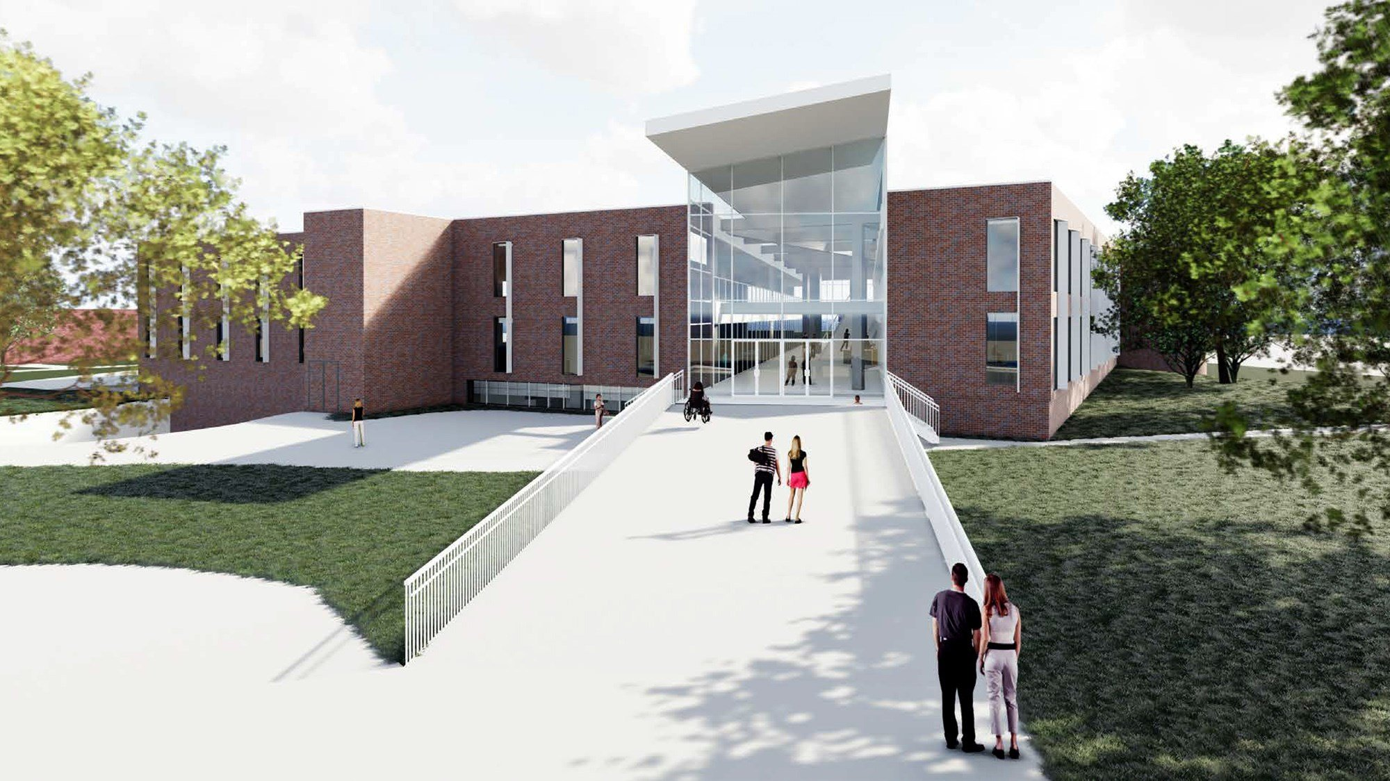 UNK planning major improvements to campus library