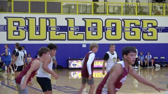 High school hoops teams converge on Bridgeport to test skills against each other