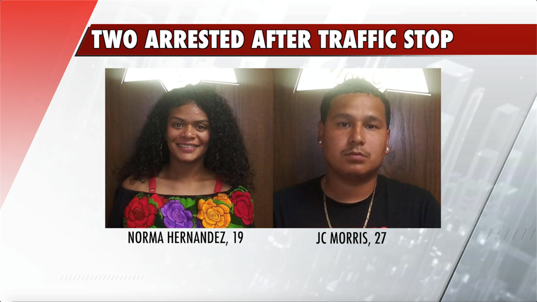 Car clocked going 102 mph; Two people facing multiple charges