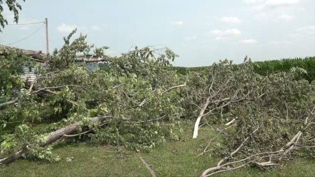 Family devastated by weekend storms