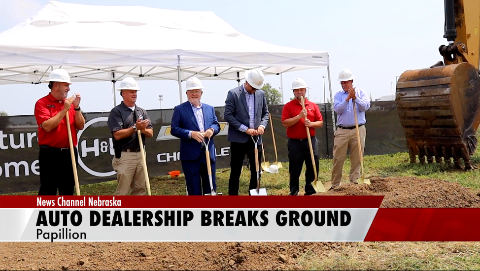 Chevy dealership breaks ground at future site
