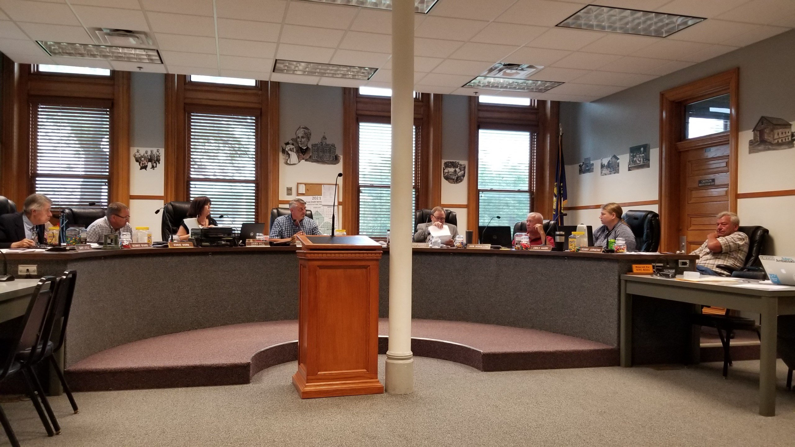 Gage County Board on record, opposing 30-by-30 initiative
