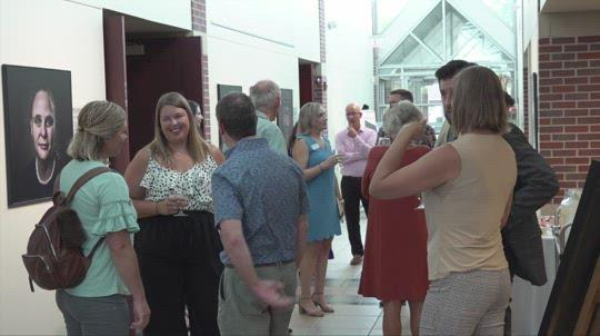 Norfolk Arts Center celebrates former executive director
