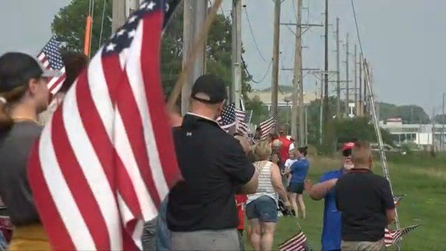 'Means quite a bit': Area shows support for Louis Tushla, repatriation