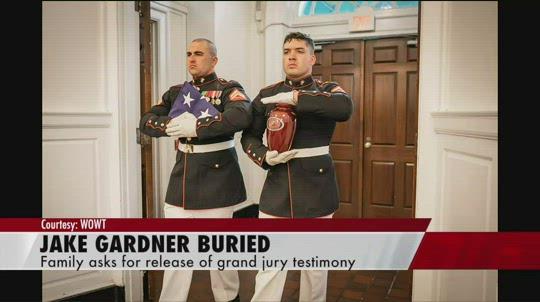 Jake Gardner buried at Arlington National Cemetery this week