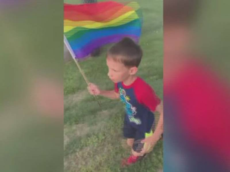 Superior boy raising money, awareness by running