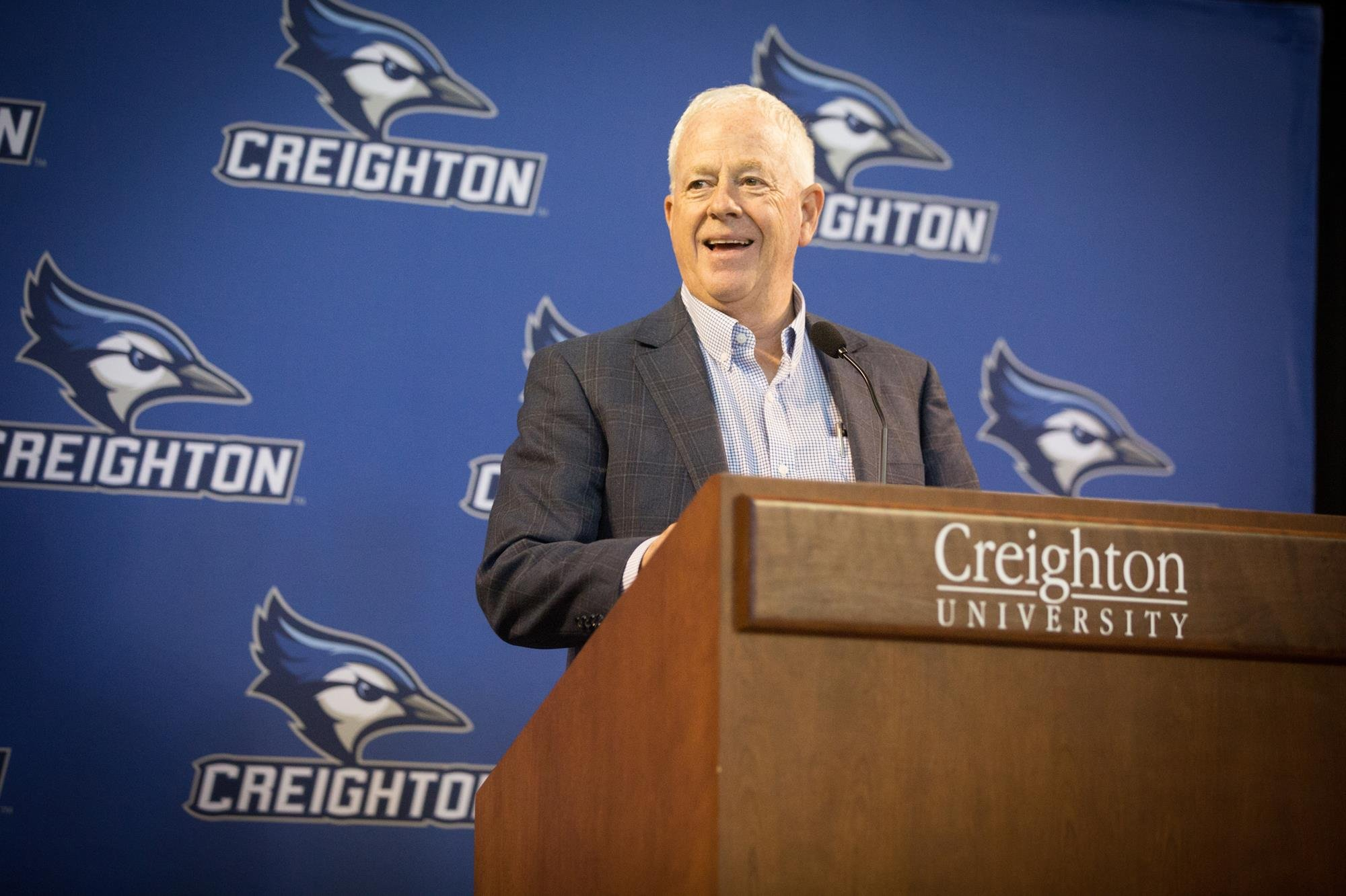 Creighton AD officially announces retirement
