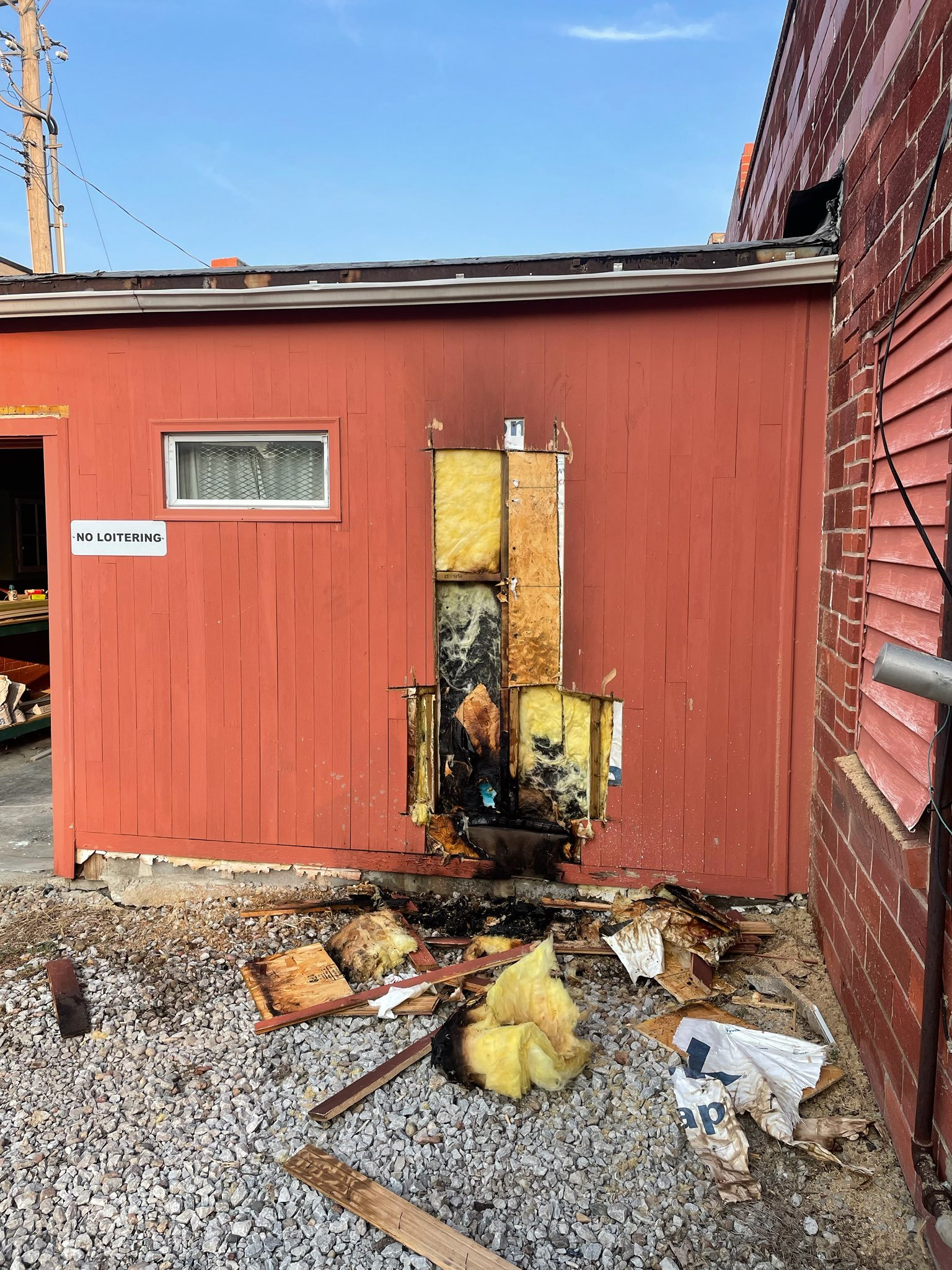 Suspected arson causes $2K in damage at tattoo parlor