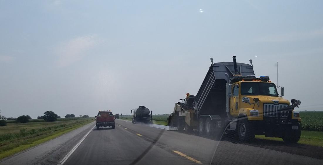 Highway maintenance, rail crossing repairs scheduled