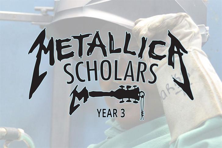 Enter grants, man: Metallica provides scholarship funding to CCC