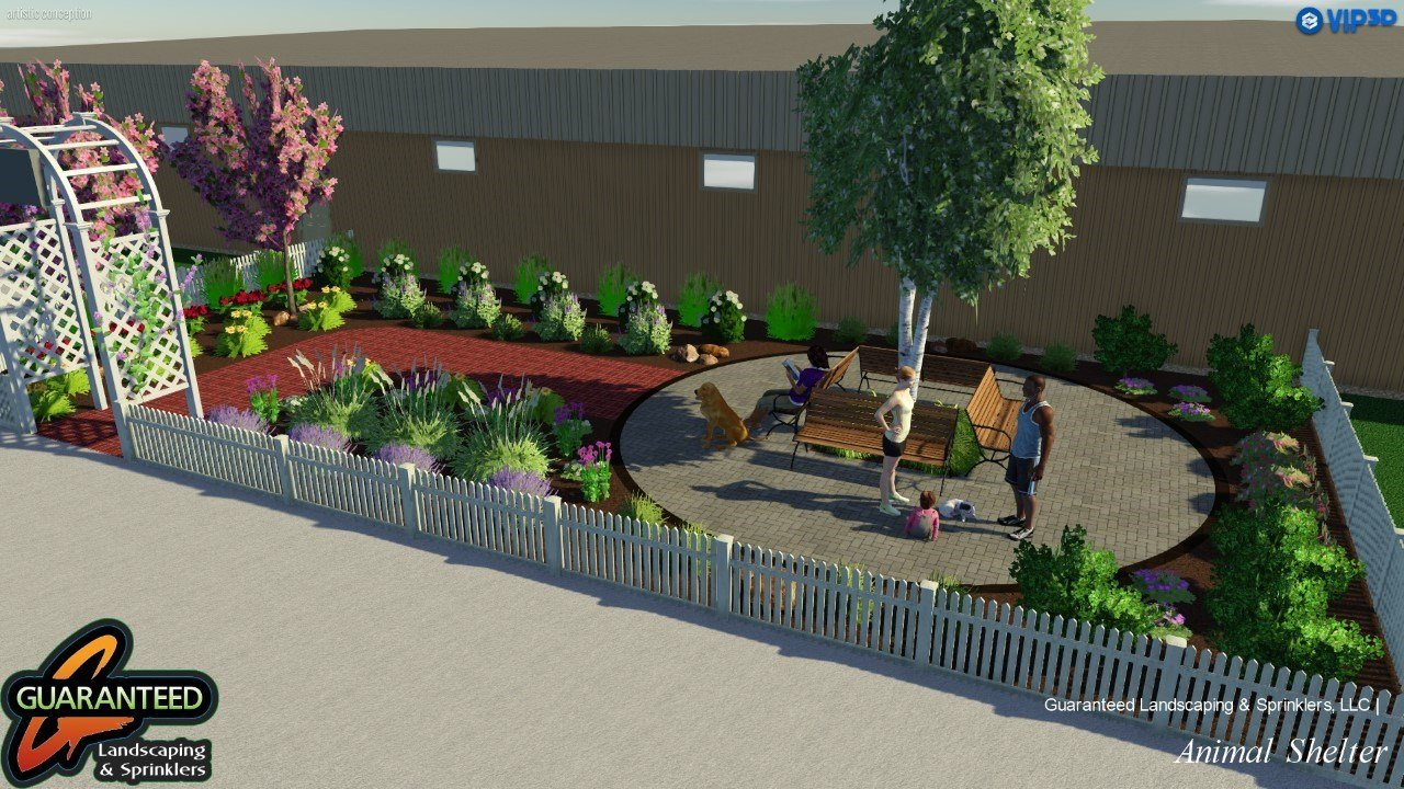 A way to remember: Animal shelter breaks ground on Memorial Garden