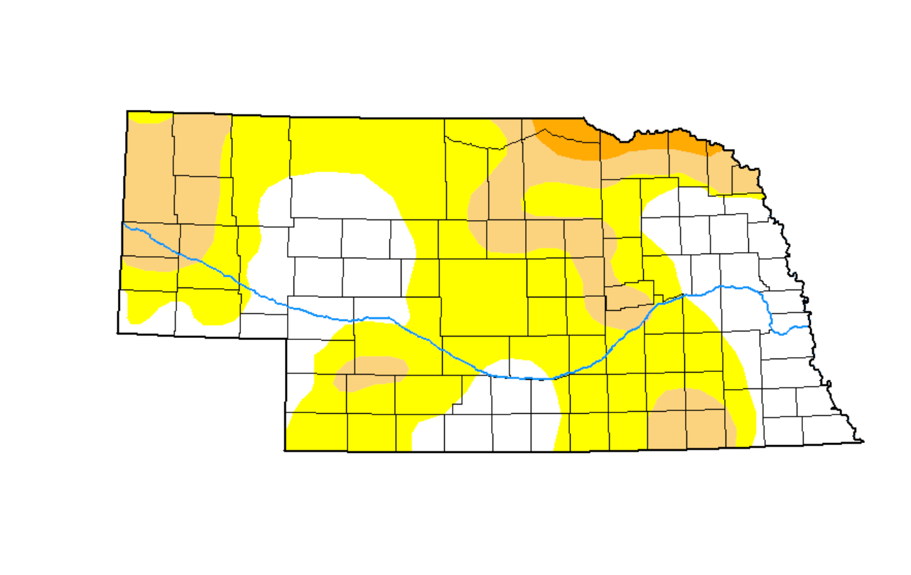 Drought slightly expands in panhandle, more dry weather ahead