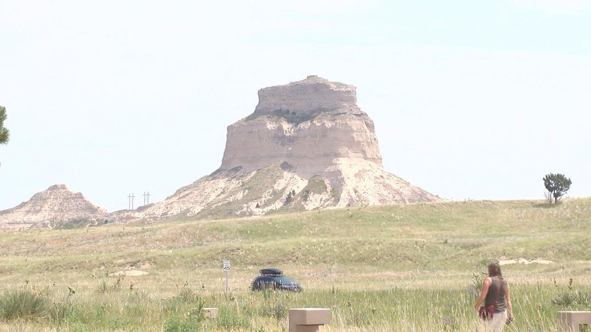 Scotts Bluff Monument seeing higher volume of tourists post COVID