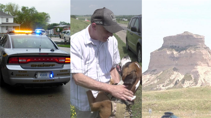 Dog hero, 20lbs of meth, and more: All of the biggest stories from across Nebraska