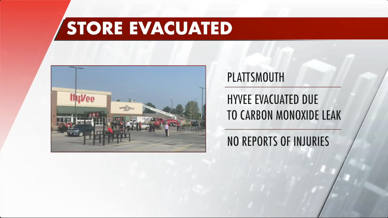 Plattsmouth grocery store evacuated after carbon monoxide scare