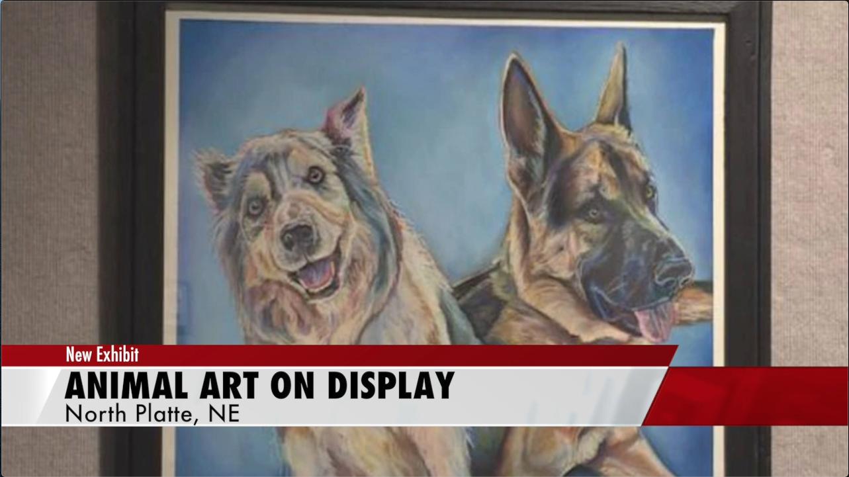Animal House art exhibit in North Platte