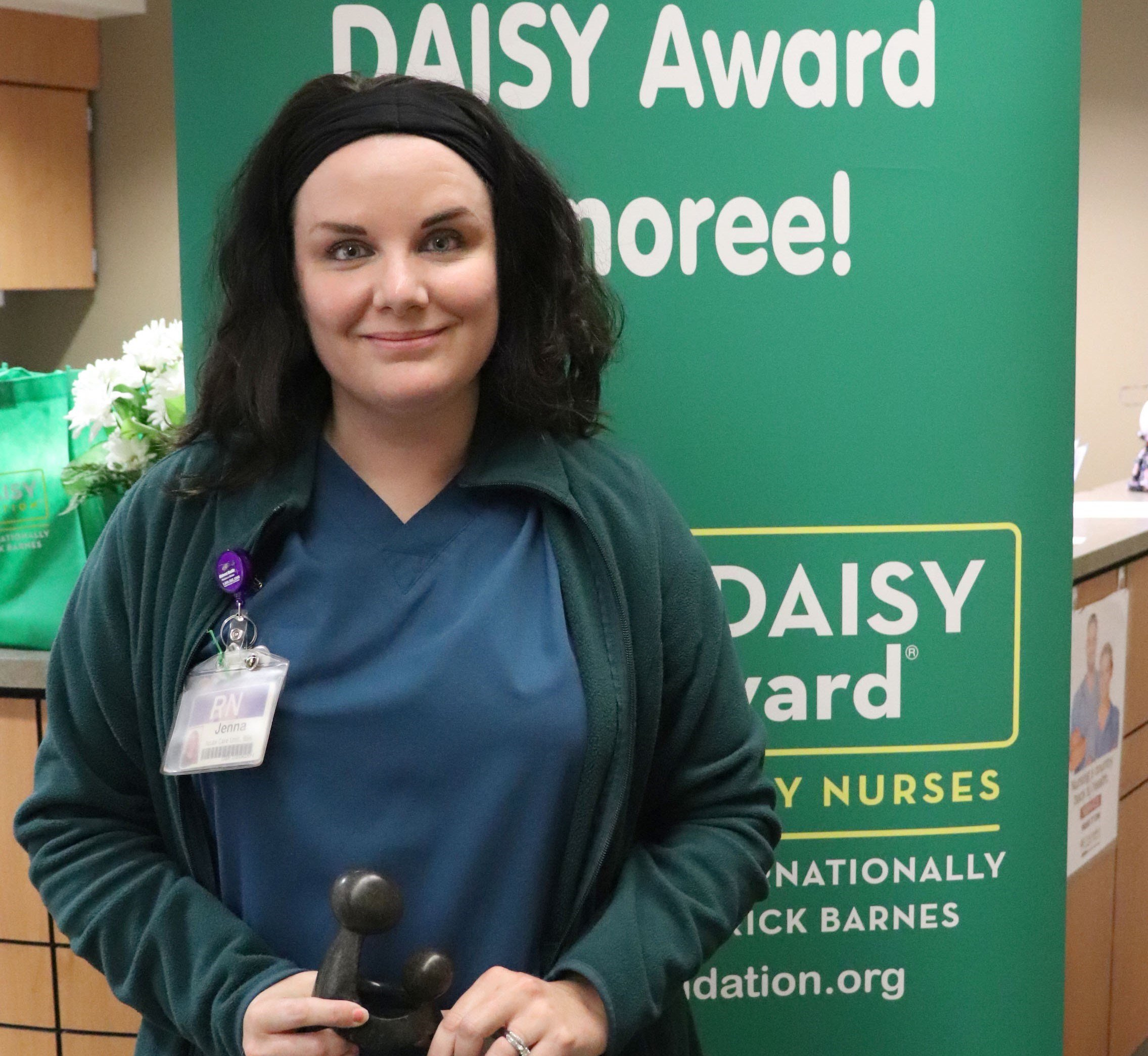 'Patient and kind': Meister recognized for nursing skills