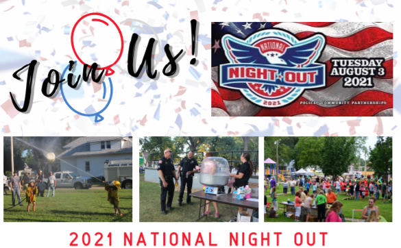 National Night Out: Police and residents to share an evening in the park