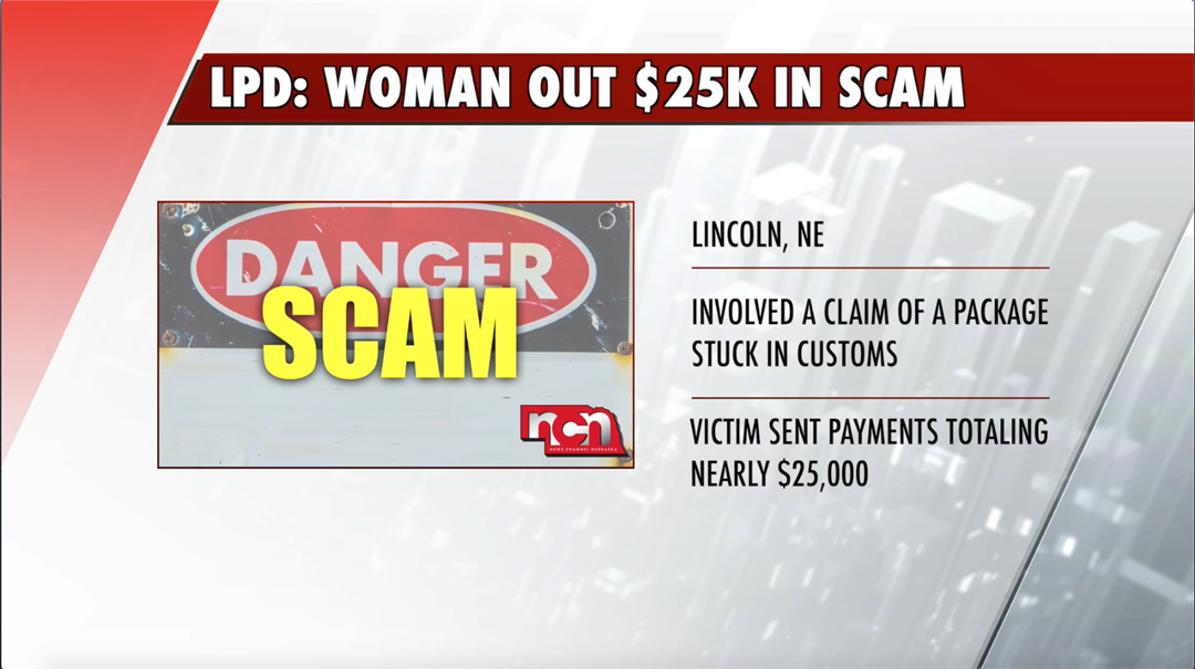 Lincoln woman scammed out nearly $25K