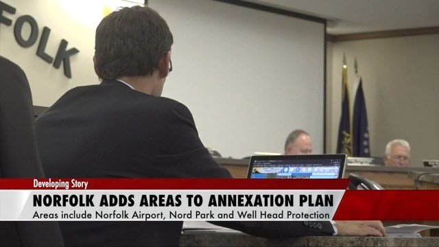 Norfolk adds new locations to annexation plan