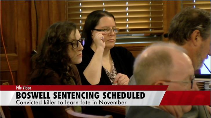 Bailey Boswell sentencing hearing set for November