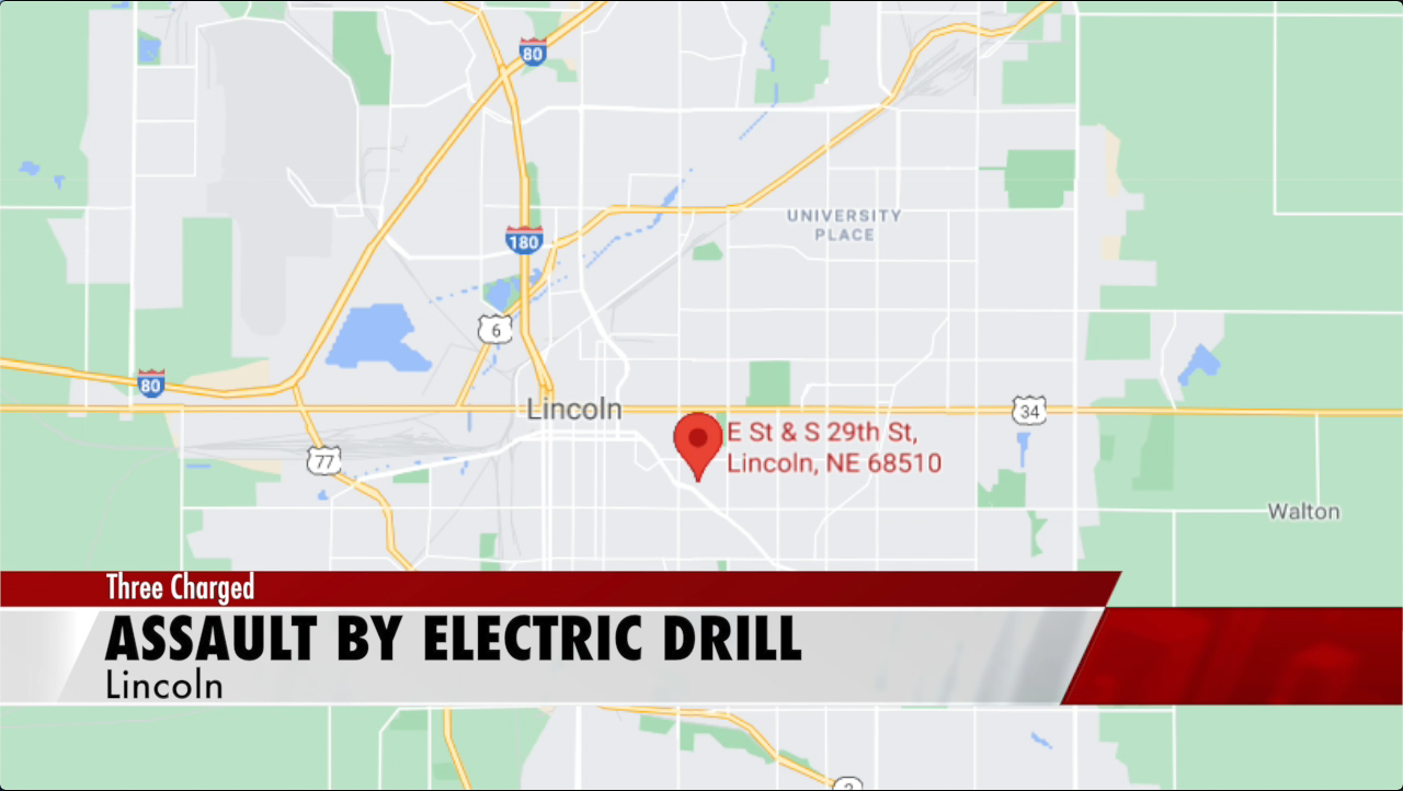A 'bit' of violence: Lincoln man hits teenager with drill