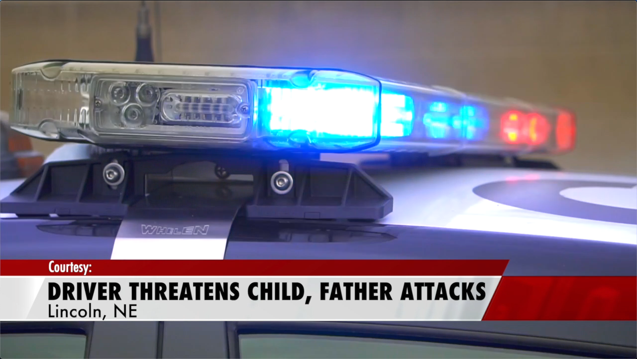 Driver threatens child, fight ensues between driver and father