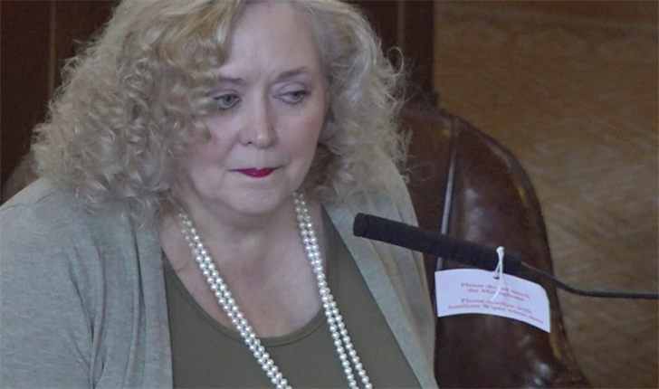 Sen. Carol Blood, of Nebraska's 3rd legislative district, considers run for governor