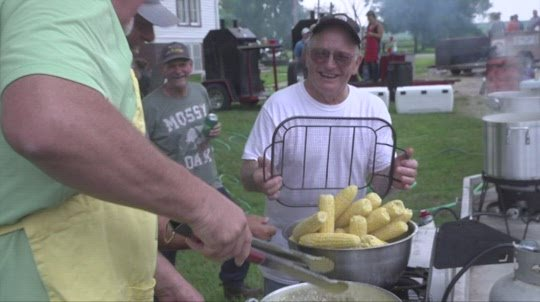 'Sweet tradition': Pilger hosts 19th Sweet Corn & Hamburger Feed for pool