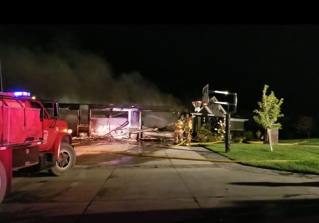 Rural Beatrice house fire triggered by battery failure