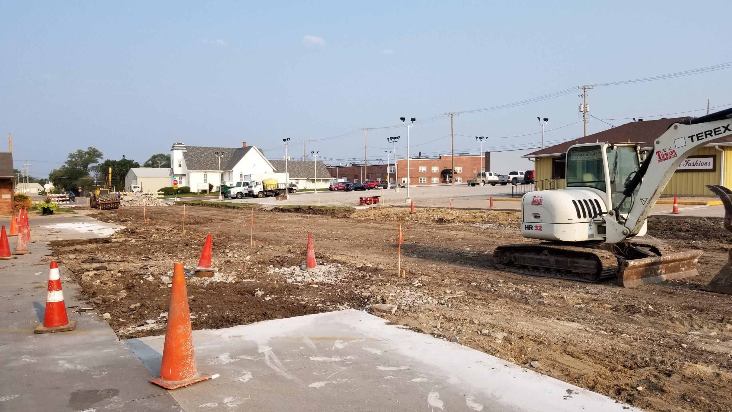 Beatrice street reconstruction project underway
