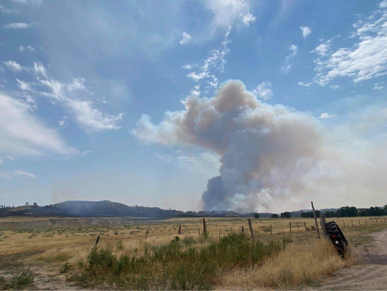 Wildfire breaks out in Nebraska Panhandle