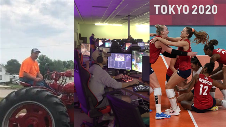 Olympic volleyball win, gamer tournament and more: All of the biggest weekend stories