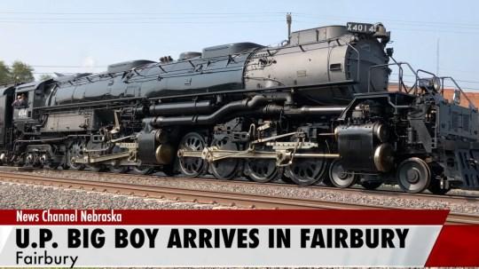 Union Pacific Big Boy makes stop in Fairbury