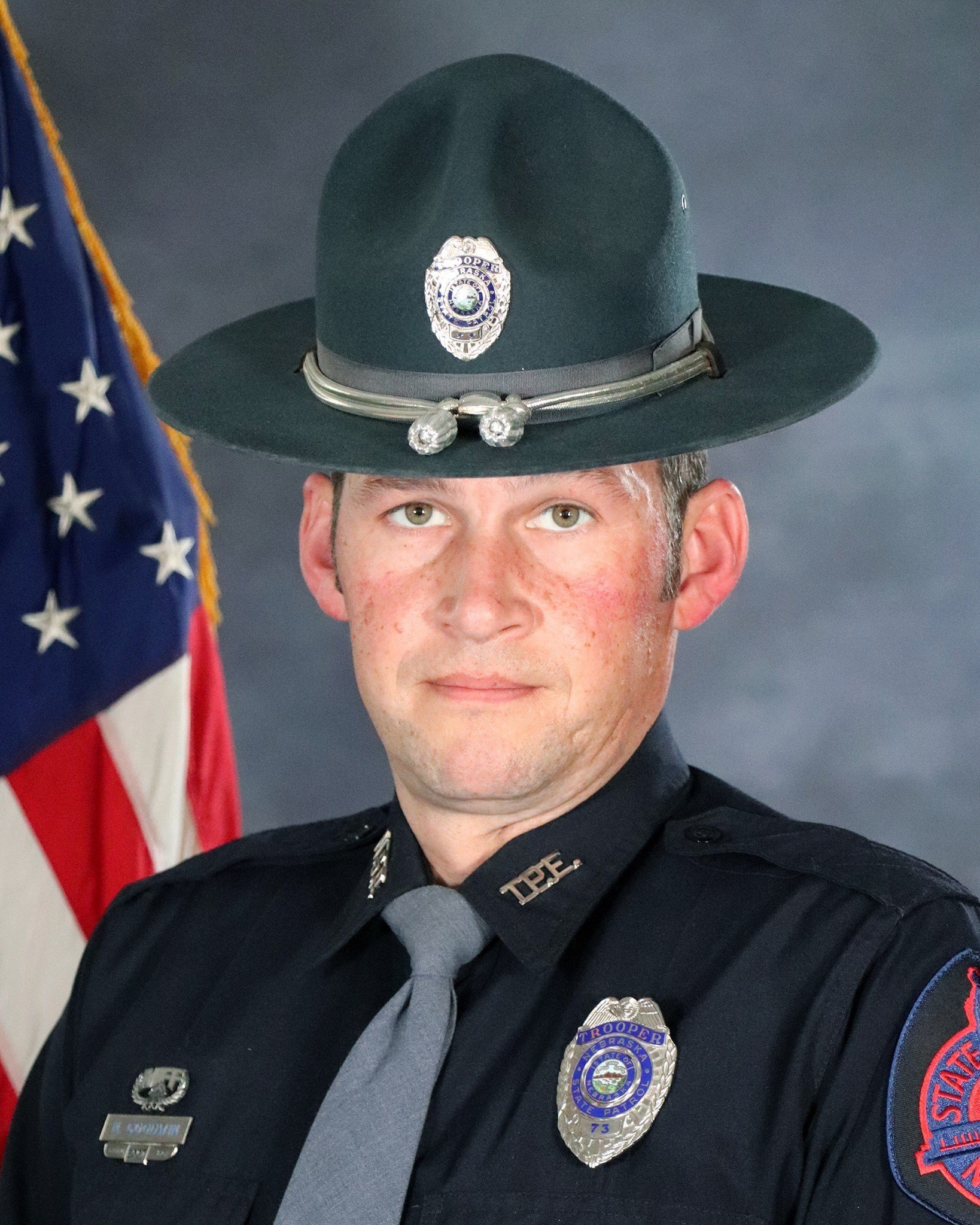 Nebraska State Patrol pays respect to fallen trooper